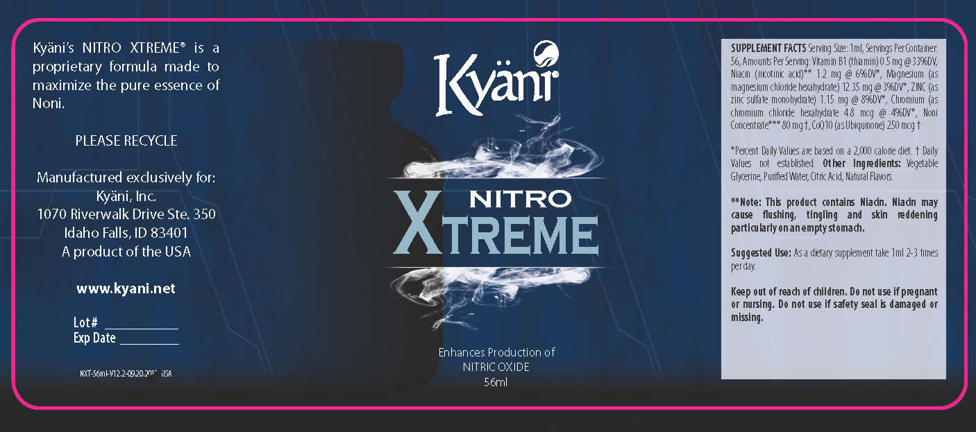 Kyani Nitro Xtreme Official Kyani For Athletes Website Order